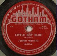 Cover Johnny Williams [John Lee Hooker] - Little Boy Blue